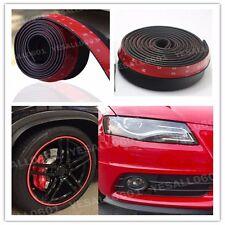 """Car Bumper Lip Splitter Body Spoiler Skirt Valance Chin Protector Black 100"""""""