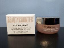 BeautyCounter CounterTime Ultra Renewal Eye Cream 0.5 oz - New! Beauty Counter