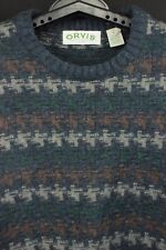 Orvis Men's Size L Gently Pre-Owned 85% Wool 15% Nylon Thick Crewneck Sweater