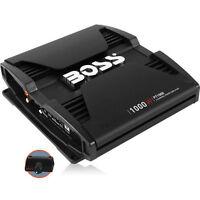 BOSS 1000W 2-Channel PHANTOM SERIES Full Range Class AB Car Amplifier | PT1000