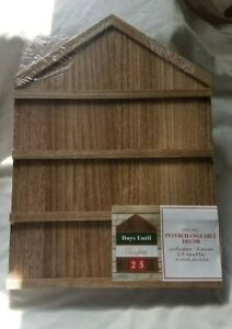 Christmas Advent Countdown Wall House 18 Interchangeable Numbers & Signs Chalk