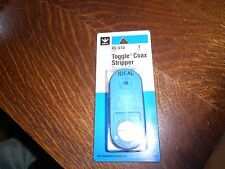 Ideal Toggle Coaxial Stripper for Thinnet Cable RG58 2 or 3 step 45-515