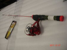 HT RED HOT ICE Ice rod and reel combo  24 inch Ultra Light action