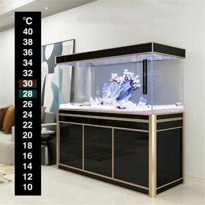 Temp Meter Temperature Stickers Fishbowl Accessories Aquarium Thermometer