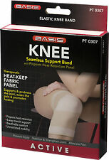 Knee Seamless Support Band W/ Pinpoint Heat Retention Panel