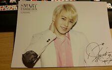 Sm Art exhibition super junior sungmin official postcard kpop k-pop rare