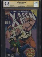 Uncanny X-Men #278 CGC 9.6 SS Chris Claremont 1991 PAUL SMITH