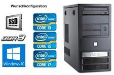 Tarox Office PC, Intel Core i5/i7, ASUS Board, 8GB/16GB RAM WLAN PC Computer SSD