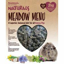 Rosewood Naturals Guinea Pig Food 2kg Meadow Menu 100% Natural Ingredients