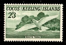 Oas-Cny Ed-390 Cocos Keeling Islands Scott 6 Lh $35