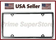 New Slim/Thin Chrome ABS Plastic License Plate Frame Car Auto Truck Tag Cover