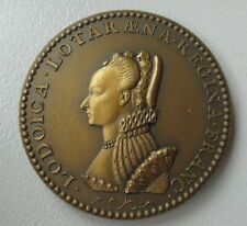 France / Bronze Medal / Queen Louise of Lorraine. M26