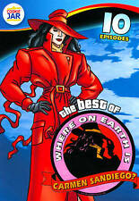 The Best of Where on Earth Is Carmen Sandiego: 10 Episodes (DVD, 2012)