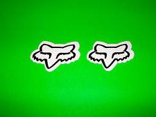 FOX RACING MOTOCROSS ATV UTV QUAD BMX WAKEBOARD SKATEBOARD WHITE STICKERS DECALS