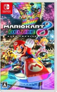 Nintendo Switch Mario Kart 8 Deluxe-Switch From Japan