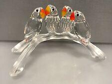 Swarovski Figur Lovebirds 10,5 cm. Top Zustand