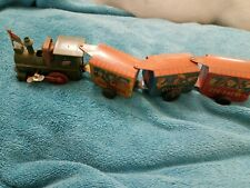 Tin Wind up Train - 11 inches - looks like it is vintage but it isn't.