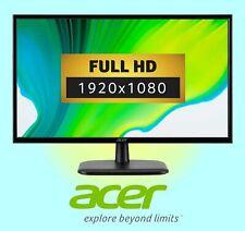 """ACER EK240YAbi Full HD 23.8"""" IPS LCD Monitor - Black"""