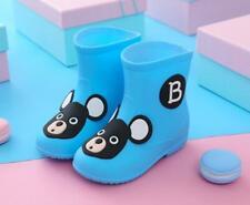 Rain Shoes Child Waterproof Rubber Baby Non-slip Rain Boots Kids Boy Girls