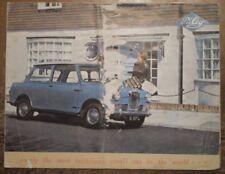RILEY ELF MARK II orig 1963 Sales Brochure in Poor Condition - Mk 2 BMC BL
