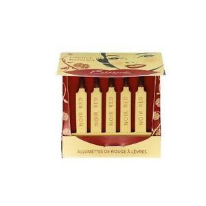 Besame Classic Color Lipstick Matches - Noir Red SC214