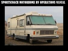 SPORTSCOACH MOTORHOME OPERATIONS & AC FURNACE MANUALs for RV Service & Repair