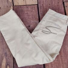 Seven7 womens white jeans stretch size 27
