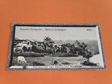 CHROMO PHOTO CHOCOLAT SUCHARD 1930 COLONIES GUYANE FRANCAISE