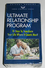 ANTHONY ROBBINS ULTIMATE RELATIONSHIP PROGRAM 7 DVDs/12 AUDIO CDs BOX SET-SEALED