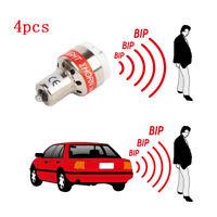4pcs LED Rear Reversing Alarm Bulb Light Beep Beeper Alert Car Van Trailer Truck