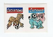 figurina CALCIO FLASH 1988 SCUDETTO CASERTANA, CATANIA