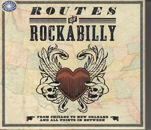 ROUTES OF ROCKABILLY (CD 2009) 3-Disc Box Set 75 Songs Rock n Roll Compilation