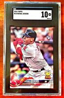 2018 Topps Series 1 Rafael Devers RC SGC 10 Gem Mint #18 Boston Red Sox