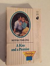 Silhouette Romance: A Kiss and a Promise by Tarling (1989, Paperback)