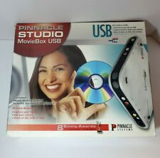 Pinnacle Studio MovieBox USB Complete Movie Making System NEW OPEN BOX