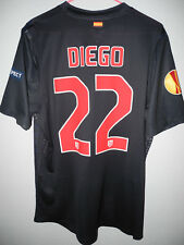CAMISETA SHIRT ATLETICO MADRID PLAYER ISSUE MATCH UN WORN DIEGO 11-12 XL + SCARF