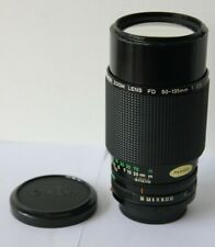 Canon FD  50-135mm f3.5 Wide Angle Zoom Lens with Macro AE-1 A-1 T90 etc Camera