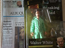 Breaking Bad Heisenberg Mezco Figure & Walter White Obituary ALB Journal BlueBag