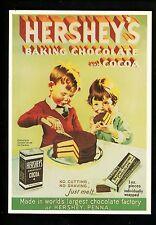 Recipe Advertising US postcard Pennsylvania Hershey's Chocolate Cake