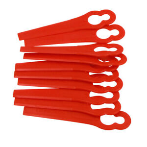 1/50/100x Plastic Blades for Grass Trimmer QV