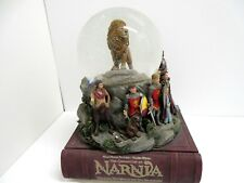 The Chronicles of Narnia SnowGlobe Snow Globe Disney Musical Box with Lights