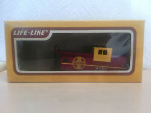 Life-Like Trains HO/OO Santa Fe 999628 CE-6 Caboose 8542 MISSING BOGIE
