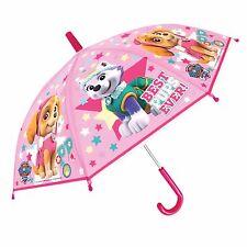 PAW PATROL SKYE EVEREST PUPS Umbrella Kids Childrens Umbrella Girls Pink POE EM