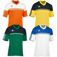 adidas Climalite Mens Autheno Football Training Top Jersey T Shirt Gym Sport Run