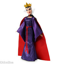 DISNEY VILLAINS SNOW WHITE AND THE SEVEN DWARF EVIL QUEEN DOLL 30cm  AUTHENTIC