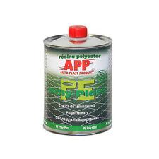 1L de résine polyester fibre de verre  peinture auto APP