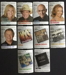 2013 Legends Of Music P/s SET USED FROM BULK ESTATE