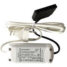 LED Treiber / Elektronischer Trafo / 15W / 230V Zuleitung / Mini AMP Verteiler