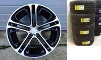 """New 4x 21"""" INCH rims for BMW X5 E70 F15 X6 F16 + summer tyres  310 style Black"""