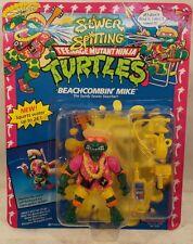 Teenage Mutant Ninja Turtles TMNT Sewer Spitting Beachcombin' Michaelangelo Mike